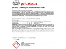 pH-Minus zur Senkung des pH-Wertes (CHF 29.00)
